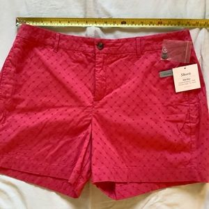 Croft's and Barrow pink shorts size 18